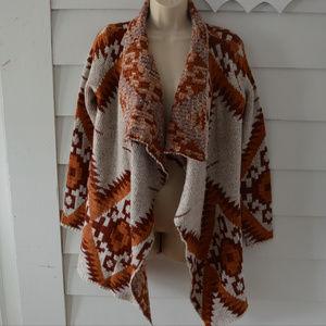 RD Style | Tawny Open Drape Cardigan Sweater NWT